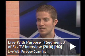 Live With Purpose! (Clip 3 of 3) (TV Show – Behind the Lines with Diane Dayton / Joe Sharp)