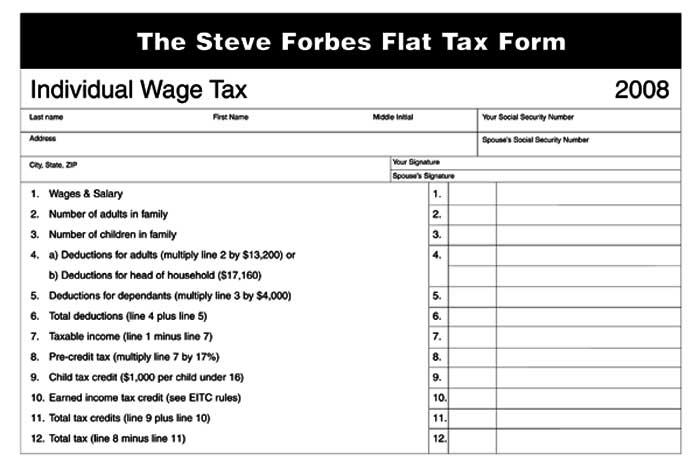 flat tax system essay Flat tax on income the objective of this work is to examine the pros and cons of a flat tax on income as a viable option to deal with the current recession in the united states.